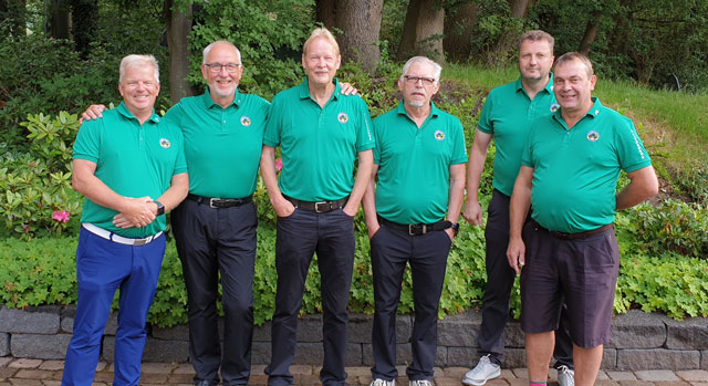Senioren Mannschaft AK 50 2. Mannschaft Gruppe 3 A (2020)